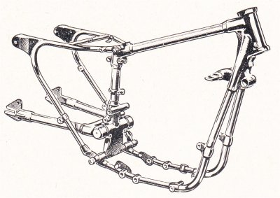 1960 Heavyweight Touring Frame pic