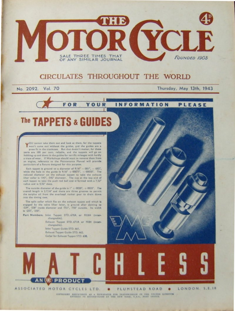 Tappets and Guides