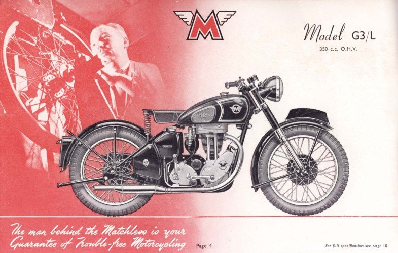 Man Behind Matchless - Wheel building