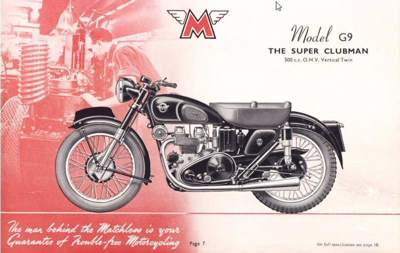 Man Behind Matchless - Wheel sprocket cutting