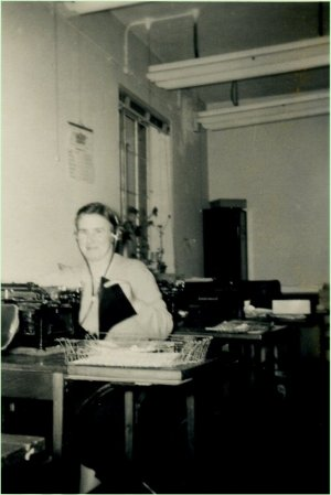 Ida Wilkinson - audio typist pic
